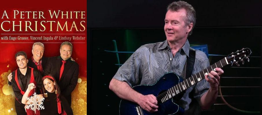 Peter White at Birchmere Music Hall
