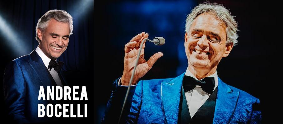 Andrea Bocelli at Capital One Arena