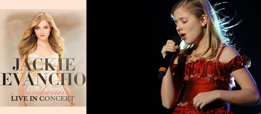 Jackie Evancho at Warner Theater