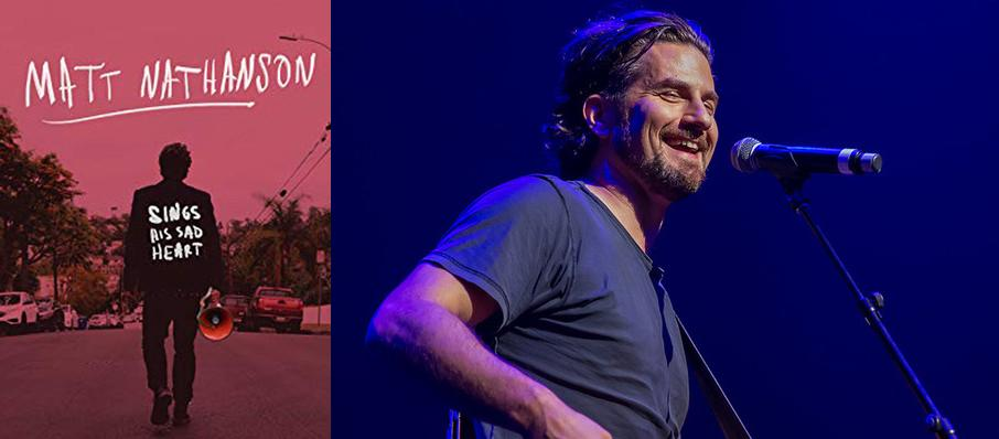 Matt Nathanson at Birchmere Music Hall