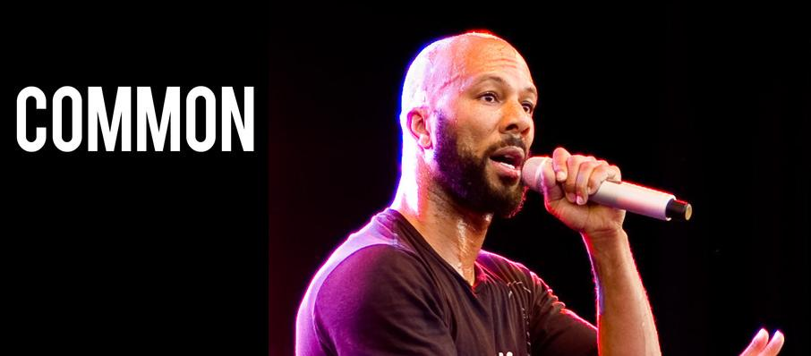 Common at Warner Theater