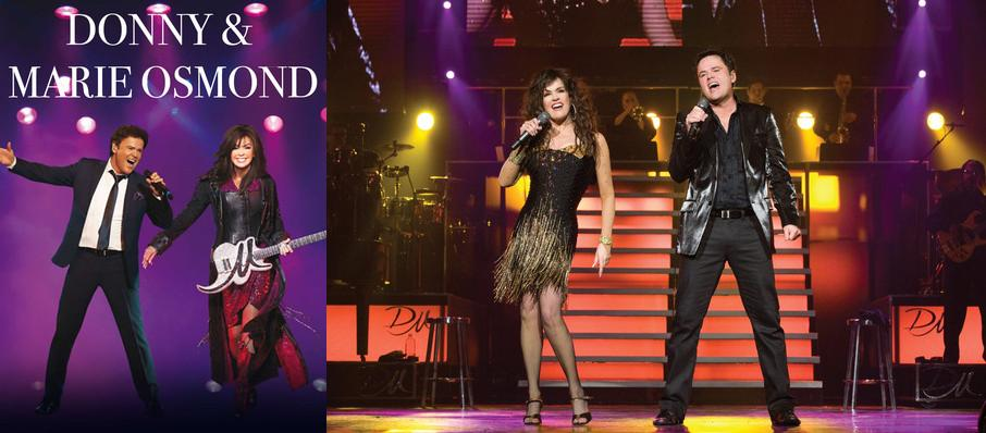 Donny and Marie Osmond at The Theater at MGM National Harbor