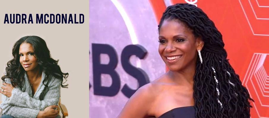 Audra McDonald at Kennedy Center Concert Hall