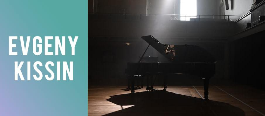 Evgeny Kissin at Kennedy Center Concert Hall