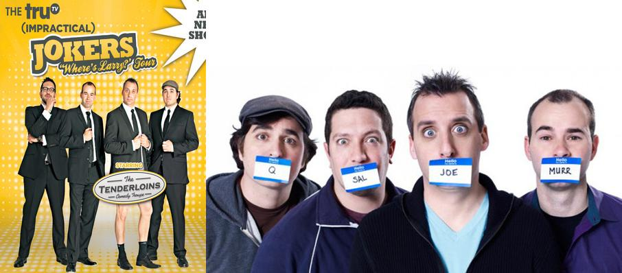 Cast Of Impractical Jokers & The Tenderloins at The Theater at MGM National Harbor