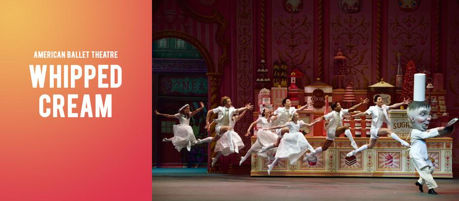 American Ballet Theatre - Whipped Cream at Kennedy Center Opera House