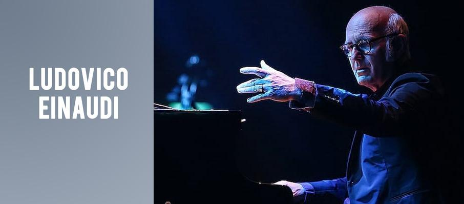 Ludovico Einaudi at Wolf Trap