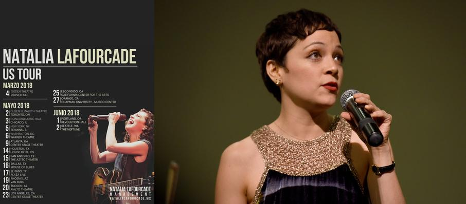 Natalia Lafourcade at Warner Theater