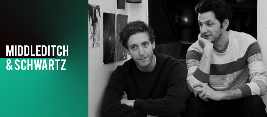 Middleditch and Schwartz at Warner Theater