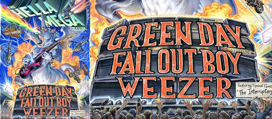 Green Day with Fall Out Boy and Weezer at Nationals Park
