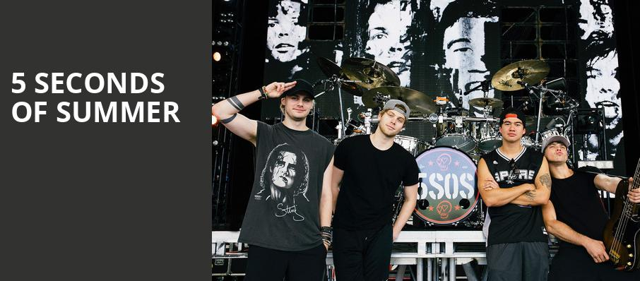 5 Seconds of Summer, The Anthem, Washington