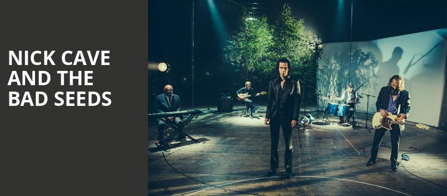 Nick Cave and The Bad Seeds, The Anthem, Washington