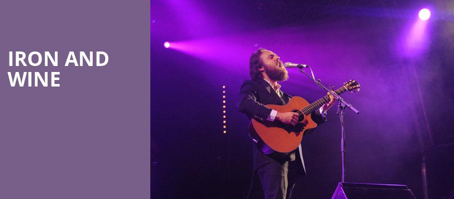 Iron and Wine, Lincoln Theater, Washington