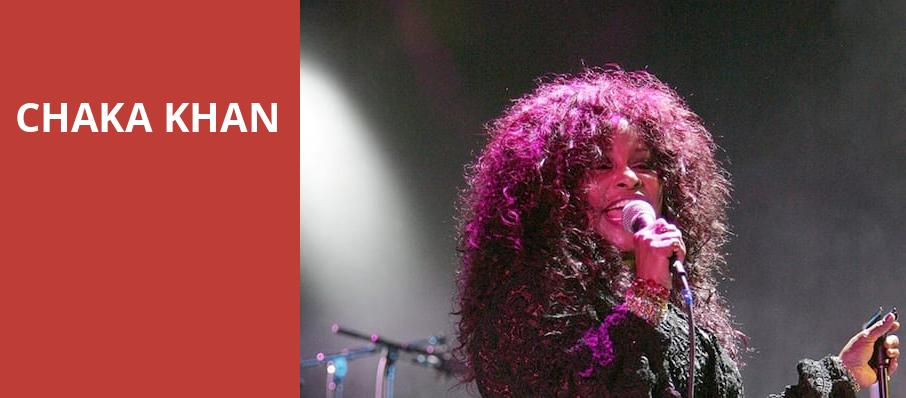 Chaka Khan, Warner Theater, Washington