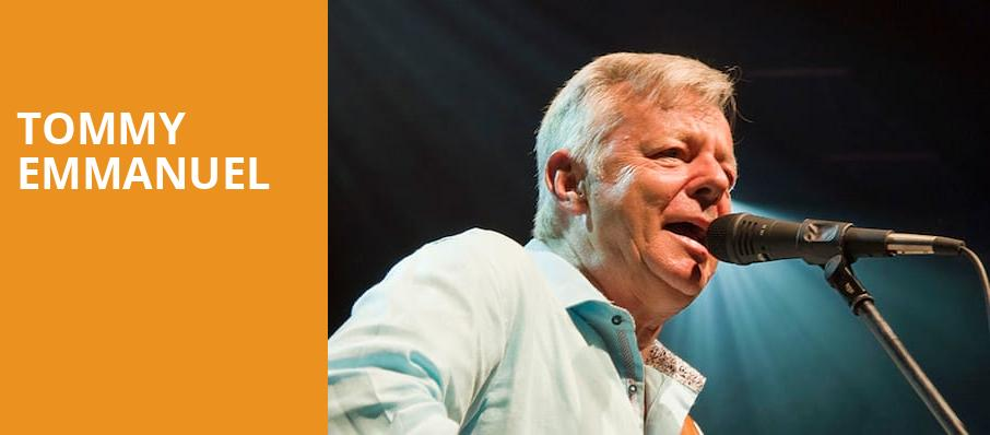 Tommy Emmanuel, Birchmere Music Hall, Washington