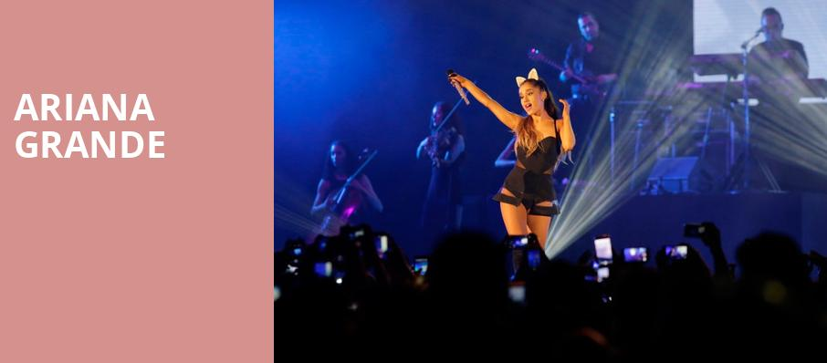 Ariana Grande, Verizon Center, Washington