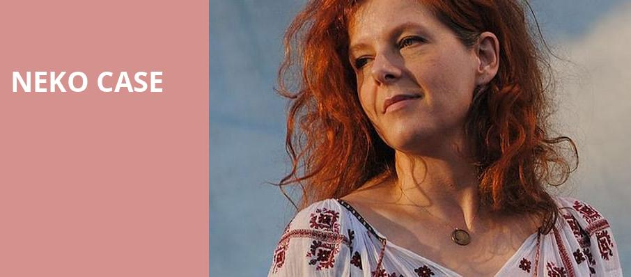 Neko Case, Lincoln Theater, Washington