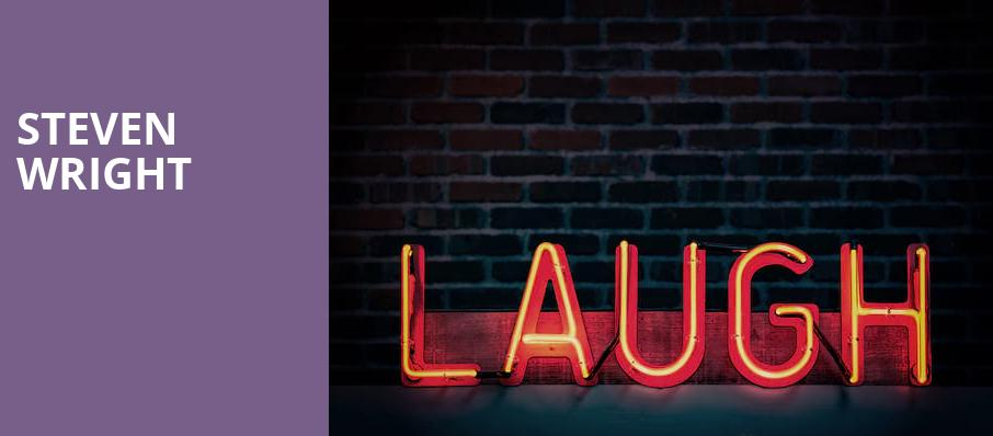 Steven Wright, Eisenhower Theater, Washington