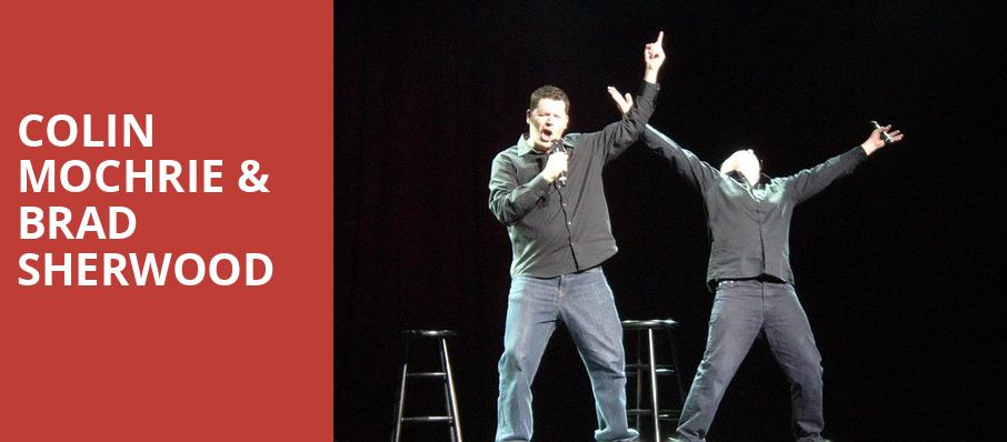 Colin Mochrie Brad Sherwood, Warner Theater, Washington