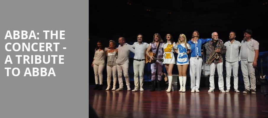 ABBA The Concert A Tribute To ABBA, Wolf Trap, Washington