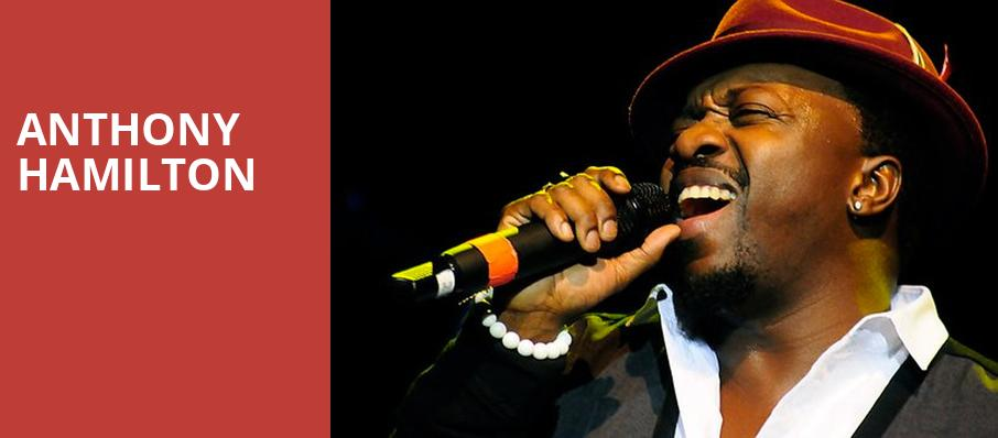 Anthony Hamilton, The Theater at MGM National Harbor, Washington