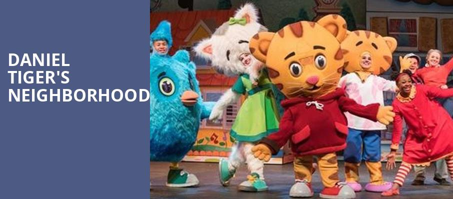 Daniel Tigers Neighborhood, Warner Theater, Washington