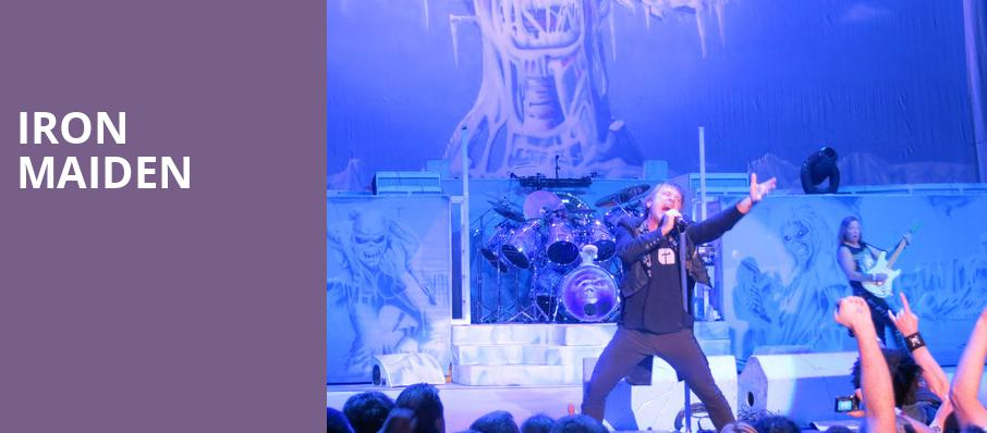 Iron Maiden, Jiffy Lube Live, Washington