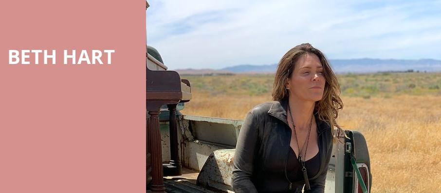 Beth Hart, Warner Theater, Washington