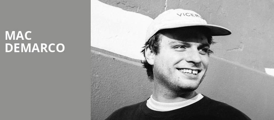 Mac DeMarco, The Anthem, Washington