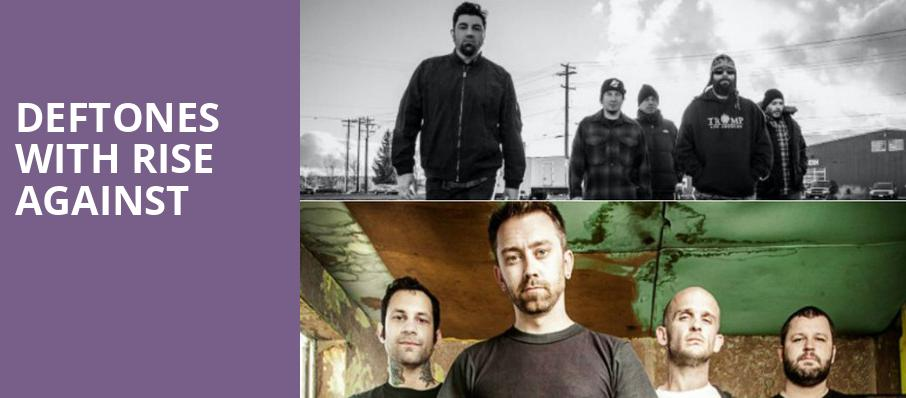 Deftones with Rise Against, The Theater at MGM National Harbor, Washington