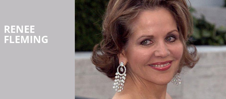 Renee Fleming, Kennedy Center Concert Hall, Washington