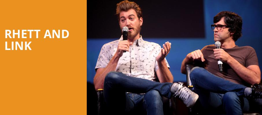 Rhett and Link, The Theater at MGM National Harbor, Washington