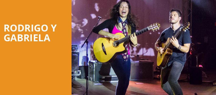 Rodrigo Y Gabriela, Wolf Trap, Washington