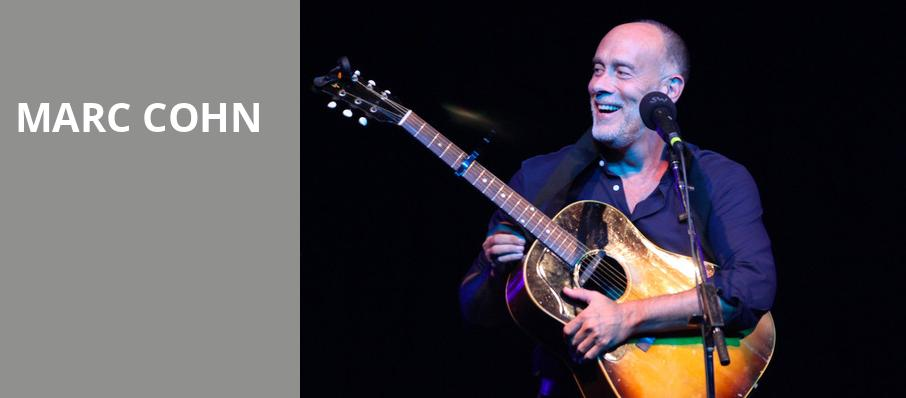 Marc Cohn, Birchmere Music Hall, Washington