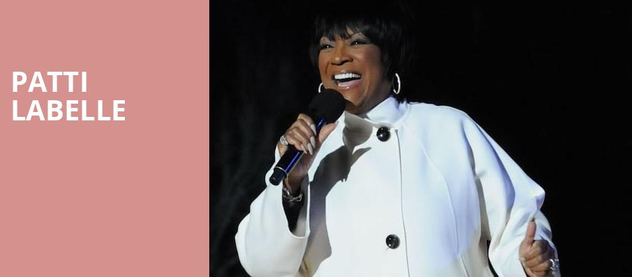 Patti Labelle, The Theater at MGM National Harbor, Washington