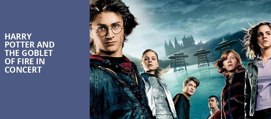 Harry Potter and the Goblet of Fire in Concert, Wolf Trap, Washington