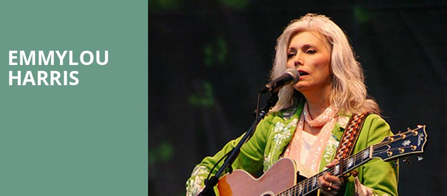 Emmylou Harris, Warner Theater, Washington