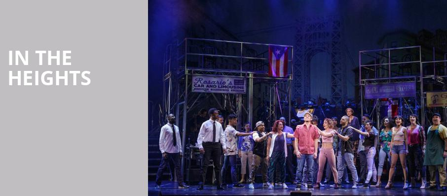 In the Heights, Eisenhower Theater, Washington