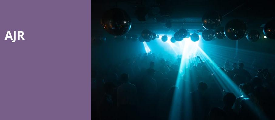 AJR, The Anthem, Washington