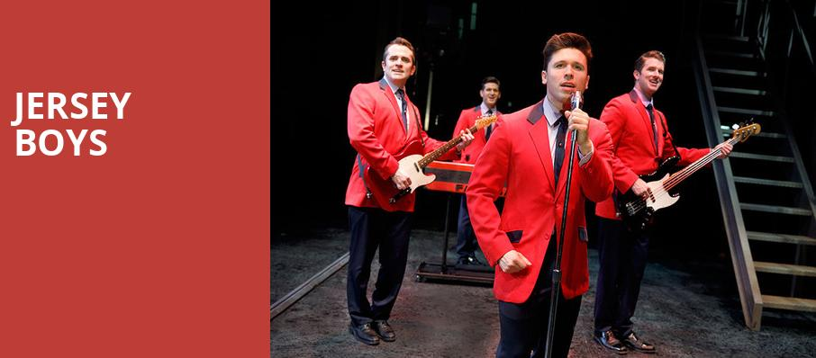 Jersey Boys, National Theater, Washington