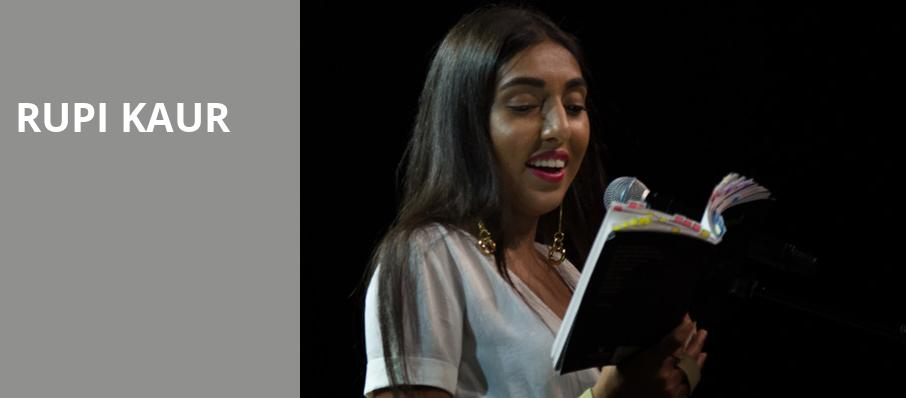 Rupi Kaur, Lincoln Theater, Washington