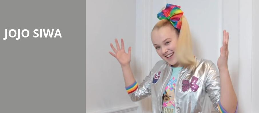 Jojo Siwa, Wolf Trap, Washington