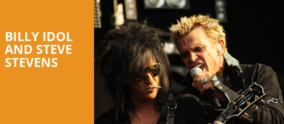 Billy Idol and Steve Stevens, Lincoln Theater, Washington
