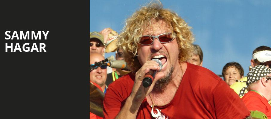 Sammy Hagar, Jiffy Lube Live, Washington