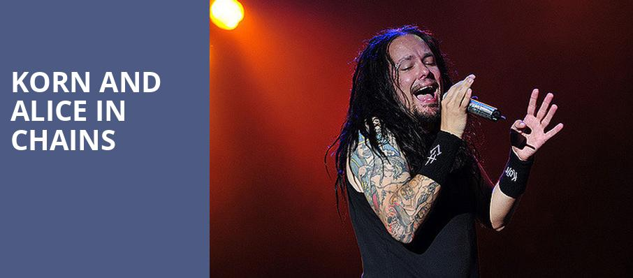 Korn and Alice in Chains, Jiffy Lube Live, Washington