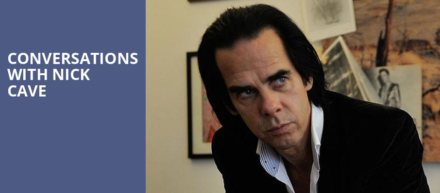Conversations with Nick Cave, Lincoln Theater, Washington