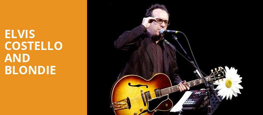 Elvis Costello and Blondie, The Anthem, Washington