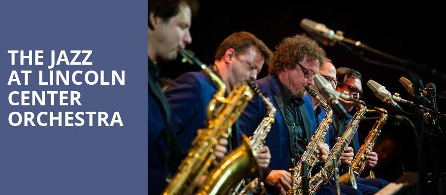 The Jazz at Lincoln Center Orchestra, Kennedy Center Concert Hall, Washington