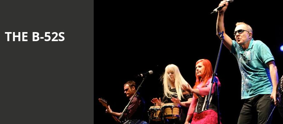 The B 52s, The Anthem, Washington