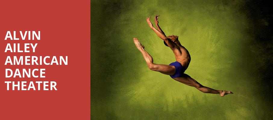 Alvin Ailey American Dance Theater, Kennedy Center Opera House, Washington
